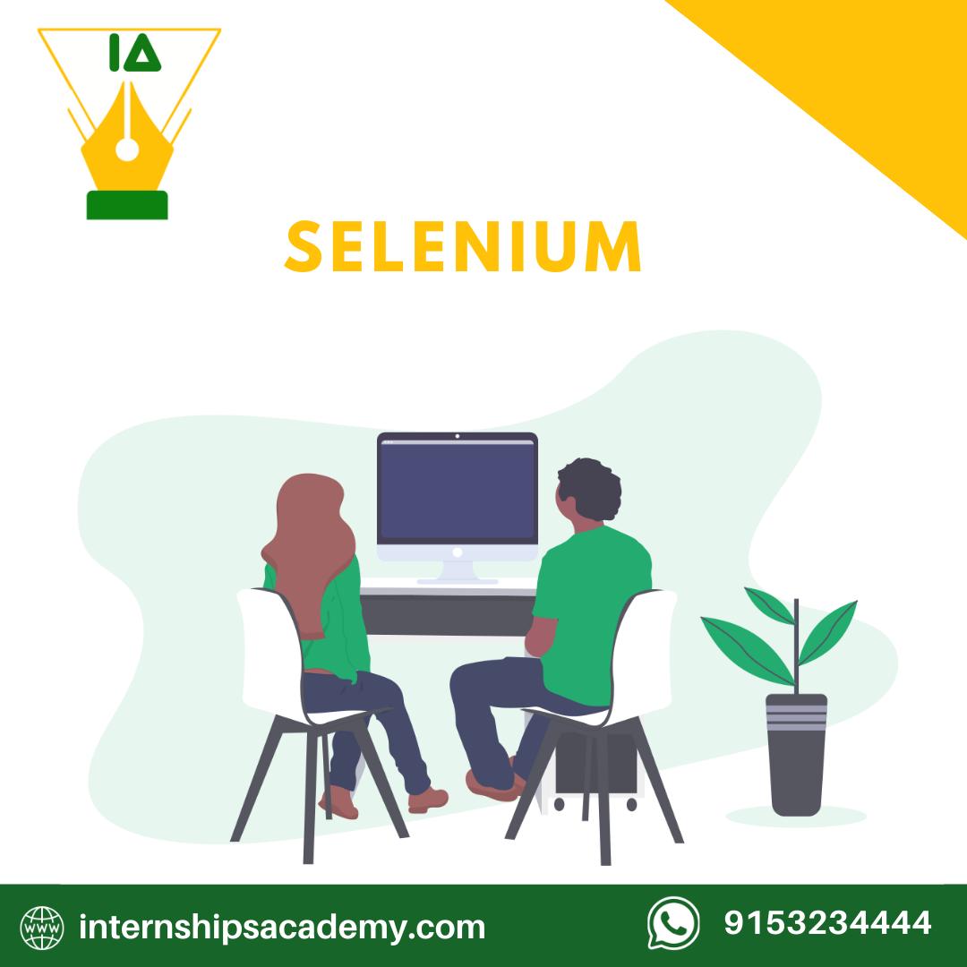 Selenium Internships Academy